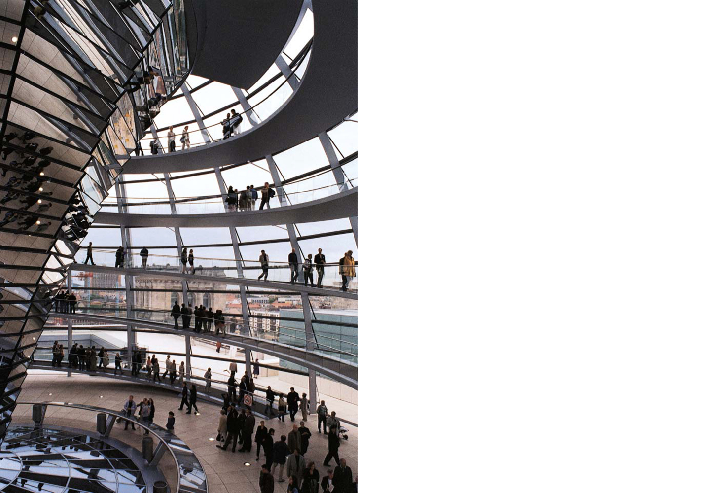 The Reichstag New German Parliament